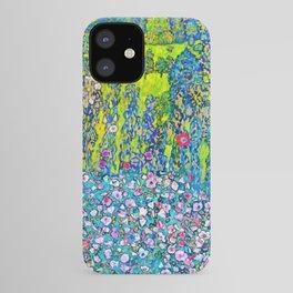 """Gustav Klimt """"Horticultural Landscape with hilltop"""" iPhone Case"""