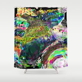 No Square Shower Curtain