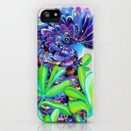 Black Cockatoo iPhone Case