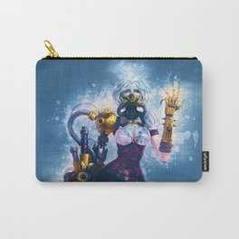 Steampunk Girl Carry-All Pouch