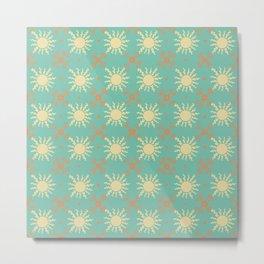 Tuscan Tile 2 Metal Print