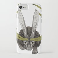 jackalope iPhone & iPod Cases featuring Jackalope by Justin McElroy