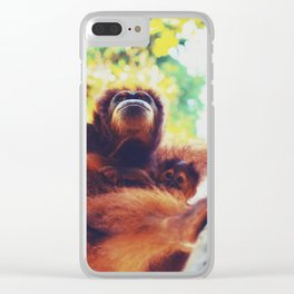 Orangutans Clear iPhone Case