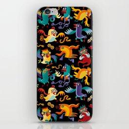 Noisy Birds iPhone Skin