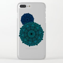 My Spirit Mandhala | Secret Geometry Clear iPhone Case