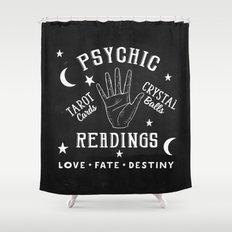 Psychic Readings Fortune Teller Art Shower Curtain