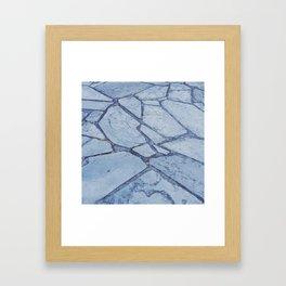 Slates Framed Art Print