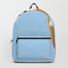 Cat cream Backpack