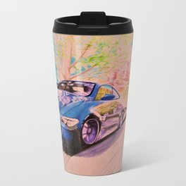 Maple Side Drift Metal Travel Mug