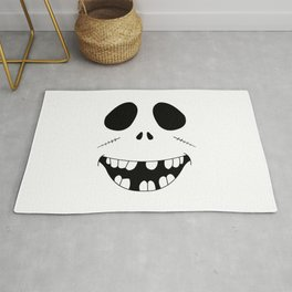 Smiling Zombie Face Rug