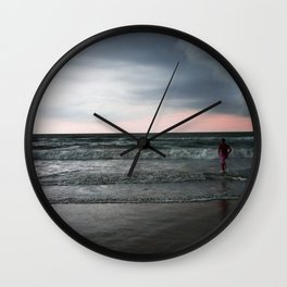 Main Beach - Gold Coast Wall Clock