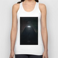 2001 a space odyssey Tank Tops featuring 2001 A Space Odyssey alternative movie poster by LionDsgn