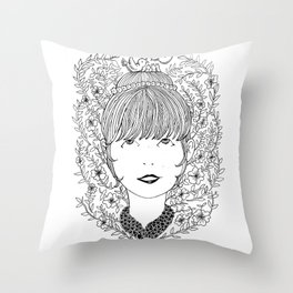 Crowning Glory Throw Pillow