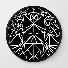 Black machaon Wall Clock