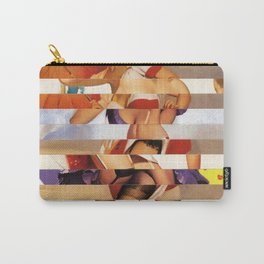 Glitch Pin-Up Redux: Amber Carry-All Pouch