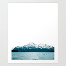 Abraham Lake, Alberta (Lake Level) Art Print