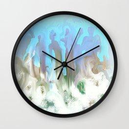 Gathering of Angels Wall Clock