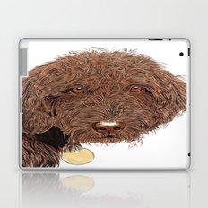 Chocolate Labradoodle Laptop & iPad Skin