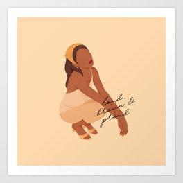 Brown Filipina Art Print