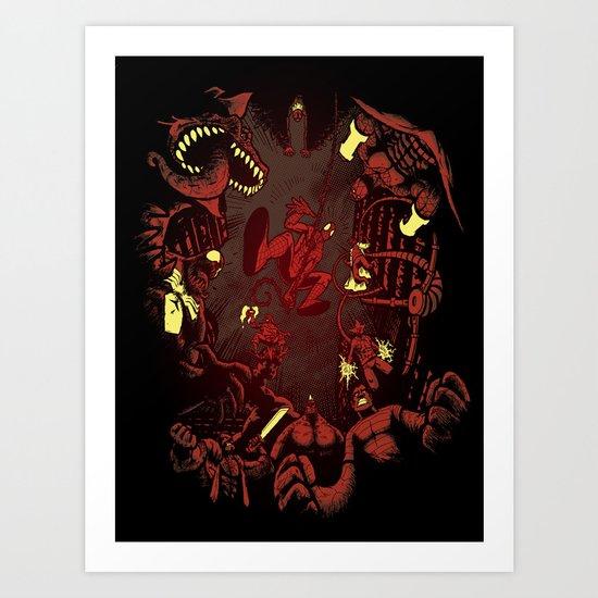 Sinister Situation Art Print