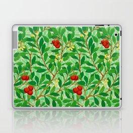 William Morris Lychee Tree Pattern, Light Jade Green Laptop & iPad Skin