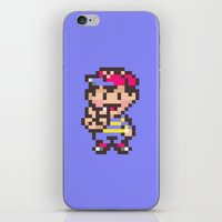earthbound iPhone & iPod Skins featuring Ness (Peace) - Earthbound / Mother 2 by Studio Momo╰༼ ಠ益ಠ ༽