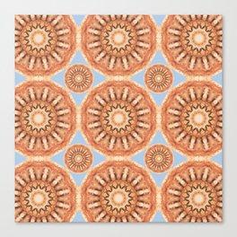 Rust-Art / Colors of Rust / mandala-style-rust Canvas Print