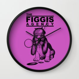 The Figgis Agency Flyer Wall Clock