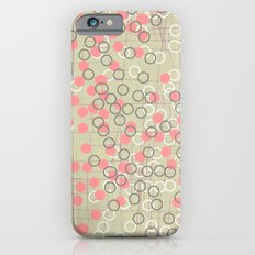 Dots and Rings-Neutral iPhone 6s Slim Case