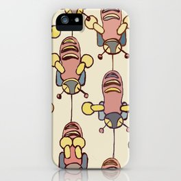 Flight of the Buzzy Bees iPhone Case