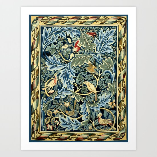 "William Morris ""Birds and Acanthus"" by alexandra_arts"