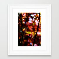bokeh Framed Art Prints featuring Bokeh by KitKatDesigns