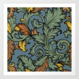 Acanthus Leaves Art Print