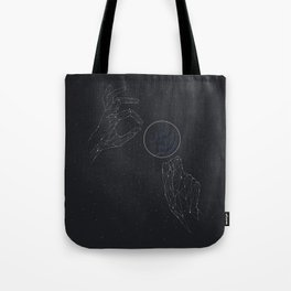 Space lense Tote Bag