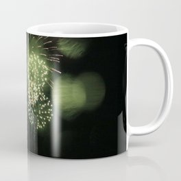 Green Fireworks (part two) Coffee Mug