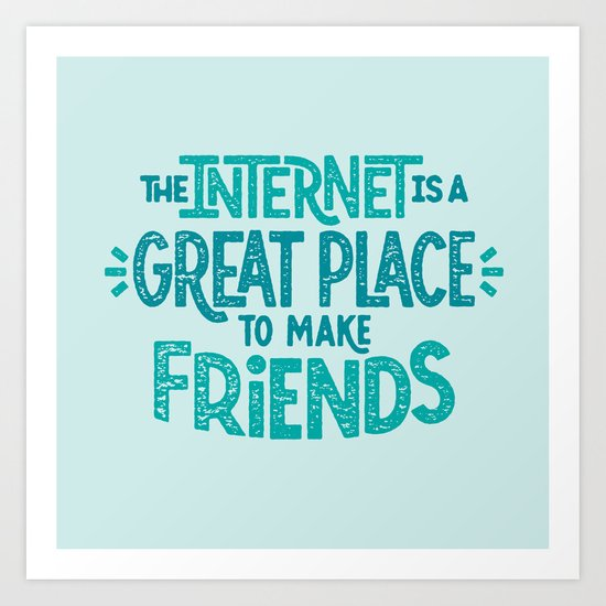 A Great Place Art Print