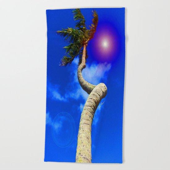 Screwy Palm Beach Towel