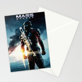 Mass effect Stationery Cards