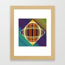 Graphic illusionism Framed Art Print