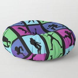 Fort Battle Dance Nite Royale Floor Pillow