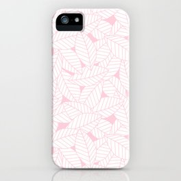 Leaves in Rose iPhone Case