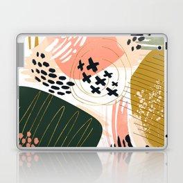 Brushstrokes abstract art III Laptop & iPad Skin