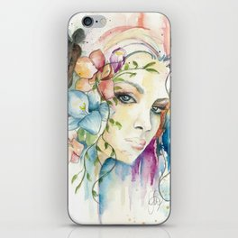 Boho Crystal Woman iPhone Skin