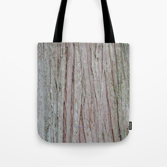 TEXTURES --  Cedar Bark Tote Bag