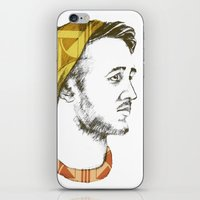 indie iPhone & iPod Skins featuring Indie Boy by Anne Dippy
