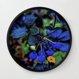 Exotic fruit and rich. Wall Clock