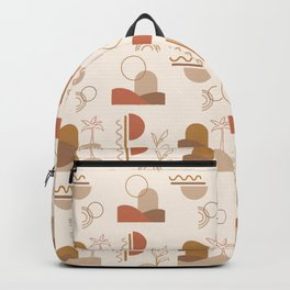 Desert Oasis Pattern Backpack