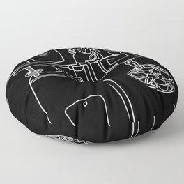 Reel Projectionist Floor Pillow