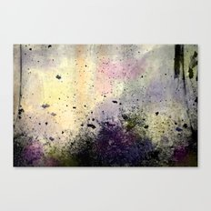 Abstract Mixed Media Design Canvas Print