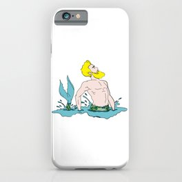 Majestic Mer Man 4 iPhone Case